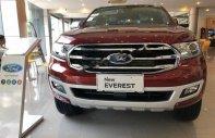 Bán xe Ford Everest Titanium 2.0L 4x4 AT đời 2018, màu đỏ, nhập khẩu nguyên chiếc giá 1 tỷ 399 tr tại Hà Nội