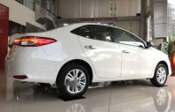 Cần bán Toyota Vios năm 2018, màu trắng, 7 túi khí, VSC giá 606 triệu tại Tp.HCM