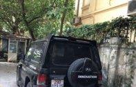 Bán Hyundai Galloper 2.5 AT sản xuất 2003, màu đen, xe nhập giá 160 triệu tại Hà Nội