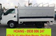 Giá xe tải Kia K250 tải trọng 1490KG/2490KG - xe tải Kia thùng mui bạt - thùng kín - thùng lửng giá 382 triệu tại Tp.HCM