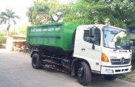 Bán xe chở rác thùng rời Hino 9 khối giá 999 triệu tại Hà Nội