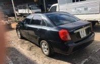 Gia đình bán ô tô Daewoo Lacetti 2004, màu đen giá 138 triệu tại Gia Lai