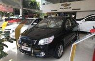Cần bán Chevrolet Aveo năm 2018, màu đen, khuyến mãi 80tr giá 379 triệu tại Cà Mau