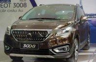 Bán Peugeot 3008 1.6AT năm 2017, màu nâu, nhập khẩu nguyên chiếc  giá 959 triệu tại Hà Nội