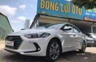 Bán Hyundai Elantra 2.0 GLS AT đời 2017, màu trắng giá 680 triệu tại Hà Nội