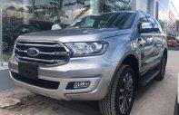 Bán xe Ford Everest Titanium sản xuất năm 2018, màu bạc, nhập khẩu nguyên chiếc giá 1 tỷ 177 tr tại Hà Nội