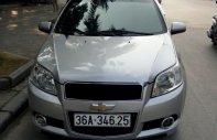 Cần bán gấp Chevrolet Aveo LT 1.5 MT năm 2015, màu bạc giá 308 triệu tại Thanh Hóa