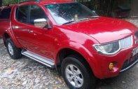 Cần bán Mitsubishi Triton sản xuất 2009, màu đỏ, nhập khẩu giá 345 triệu tại Hà Nội