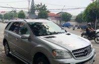 Bán ô tô Mercedes ML350 sản xuất năm 2005, màu bạc, nhập khẩu   giá 460 triệu tại Tp.HCM