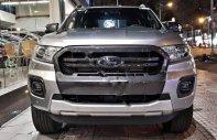 Bán Ford Ranger Wildtrak 2018, màu bạc, động cơ mới 2.0L giá 630 triệu tại Tp.HCM
