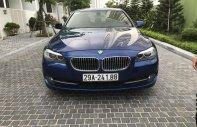Bán BMW 5 Series sản xuất 2011 màu xanh lam, 1 tỷ 040 triệu nhập khẩu nguyên chiếc giá 1 tỷ 40 tr tại Hà Nội
