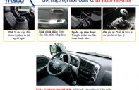 Xe Kia K250 động cơ Hyundai phun dầu điện tử, phanh ABS. Xe Kia K250 tải 2490 kg thùng kín mui bạt, hỗ trợ ngân hàng 70-80% giá 389 triệu tại Tp.HCM