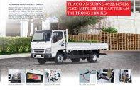 Xe tải nhập khẩu Nhật Bản sử dụng động cơ Mitsubishi. Xe tải Fuso Canter 4.99 tải 2100 kg - Xe Euro 4 mua qua ngân hàng giá 585 triệu tại Tp.HCM