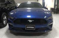 Bán xe thể thao Ford Mustang 2.3 Ecoboost đời 2018, màu xanh, nhập khẩu giá 2 tỷ 700 tr tại Hà Nội