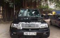 Bán Hyundai Galloper MT, sản xuất 2002, màu đen, nhập khẩu nguyên chiếc giá 132 triệu tại Hà Nội