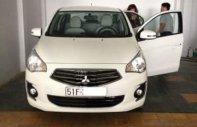 Bán xe Mitsubishi Attrage đời 2015, màu trắng, số sàn, 355 triệu giá 355 triệu tại Tp.HCM