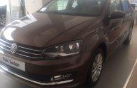 Cần bán Volkswagen Polo 1.6 AT năm 2016, màu nâu, 599tr giá 599 triệu tại Hà Nội