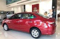 Bán xe Toyota Vios năm sản xuất 2018, màu đỏ giá cạnh tranh giá 601 triệu tại Tp.HCM