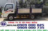 Giá xe tải Jac 2T4 vào được thành phố ban ngày | Xe Tải Jac 2T4 Thùng Bạt giá 255 triệu tại Tp.HCM