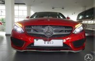 Bán Mercedes C300 AMG đời 2018, màu đỏ, xe nhập giá 1 tỷ 949 tr tại Tp.HCM