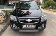 Bán ô tô Chevrolet Captiva AT đời 2011, màu đen, giá tốt giá 410 triệu tại Tp.HCM