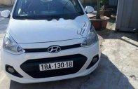 Cần bán xe cũ Hyundai Grand i10 năm 2014, màu trắng giá 250 triệu tại Nam Định