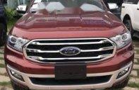 Bán ô tô Ford Everest năm sản xuất 2018, màu đỏ, nhập khẩu nguyên chiếc giá 1 tỷ 112 tr tại Tp.HCM