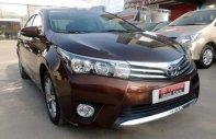 Cần bán gấp Toyota Corolla altis đời 2017, màu nâu chính chủ giá 755 triệu tại Hà Nội
