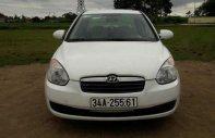 Cần bán gấp Hyundai Verna 1.4MT đời 2008, màu trắng chính chủ giá cạnh tranh giá 165 triệu tại Hải Dương