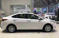 Bán ô tô Hyundai Accent 1.4 MT sản xuất năm 2018, màu trắng giá 470 triệu tại Tp.HCM