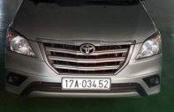Cần bán gấp Toyota Innova sản xuất năm 2014, màu bạc còn mới giá 570 triệu tại Hà Nội