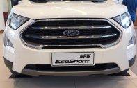 Bán Ford EcoSport 2018, fulloption, mykey, màu trắng, sẵn xe, giao ngay, hỗ trợ vay 90% giá 689 triệu tại Yên Bái