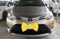 Bán xe Toyota Vios sản xuất 2017, màu vàng, giá tốt giá 566 triệu tại Hà Nội