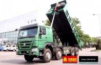 Bán xe tải ben Howo 4 chân, 17 tấn, giá 1.165 tỷ, KM 2% thuế trước bạ giá 1 tỷ 165 tr tại Hà Nội