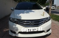 Bán xe HonDa City 1.5AT màu trắng, SX: T12/2013, số tự động, máy ECO rất tiết kiệm giá 445 triệu tại Hà Nội