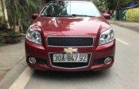 Cần bán Chevrolet Aveo năm sản xuất 2015, màu đỏ, giá 339tr giá 339 triệu tại Hà Nội