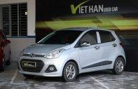 Bán xe Hyundai Grand i10 1.2AT đời 2015, màu bạc, xe nhập giá 368 triệu tại Tp.HCM