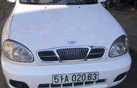 Cần bán lại xe Daewoo Lanos đời 2005, màu trắng, nhập khẩu nguyên chiếc giá 128 triệu tại Tp.HCM