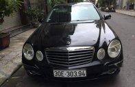 Cần bán gấp Mercedes E200 sản xuất 2007, màu đen còn mới giá cạnh tranh giá 468 triệu tại Hà Nội