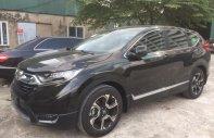 Bán xe Honda CR V L sản xuất năm 2018, màu xanh đen giá 1 tỷ 83 tr tại Hà Nội