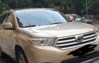 Bán Toyota Highlander SE 2.7 năm sản xuất 2010, màu vàng cát, xe nhập giá 1 tỷ 250 tr tại Hà Nội