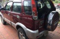 Bán ô tô Daihatsu Terios 1.3 4x4 MT sản xuất 2004, màu đỏ giá 210 triệu tại Hà Nội