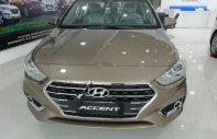 Cần bán Hyundai Accent 1.4 AT 2018, màu nâu giá cạnh tranh giá 540 triệu tại Long An