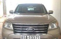 Cần bán lại xe Ford Everest năm 2010, màu vàng, số sàn giá 529 triệu tại Kon Tum