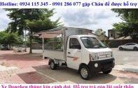 Thông số xe tải Dongben thùng cánh dơi 770kg, giá rẻ nhất Việt Nam, trả góp 70%, thủ tục đơn giản giá 180 triệu tại Tp.HCM