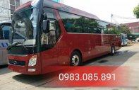 Xe khách Tracomeco phiên bản Universe Noble U47 chỗ màu nâu đỏ - động cơ weichai giao ngay và luôn giá 2 tỷ 550 tr tại Hà Nội