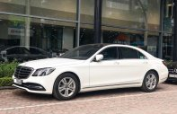 Cần bán Mercedes S450L 2018 chạy 3.000km, màu trắng giá tốt giá 3 tỷ 580 tr tại Hà Nội