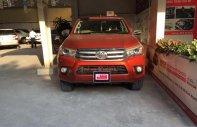 (Hãng) Bán Toyota Hilux 2.8 G 4x4 AT đời 2016, màu cam, nhập khẩu, giá tốt giá 790 triệu tại Tp.HCM