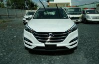 Bán Hyundai Tucson 2.0AT CRDi sản xuất năm 2018, màu trắng giá 890 triệu tại Tp.HCM