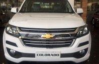 Bán Chevrolet Colorado năm sản xuất 2018, màu trắng, nhập khẩu nguyên chiếc giá 594 triệu tại Tp.HCM